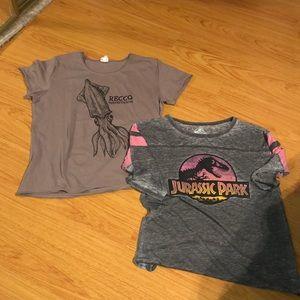 Bundle of Ladies t-shirts; size L